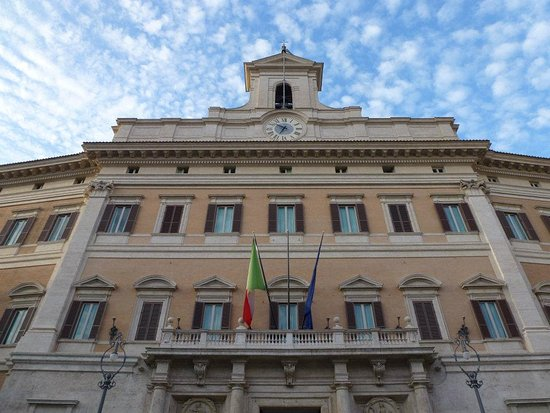 Palazzo montecitorio camera dei deputati sala della for Sede camera dei deputati roma