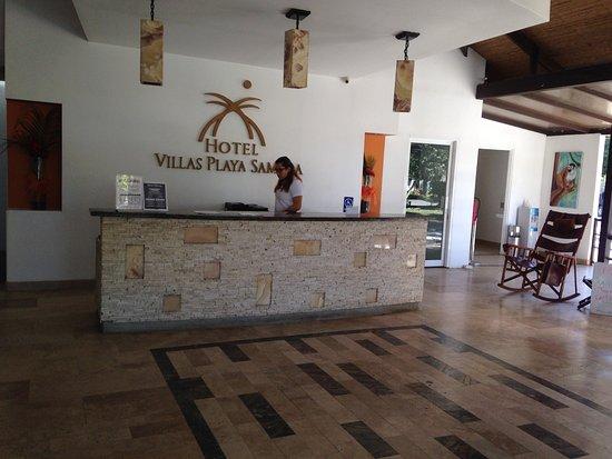 Hotel Villas Playa Samara: This the the lobby