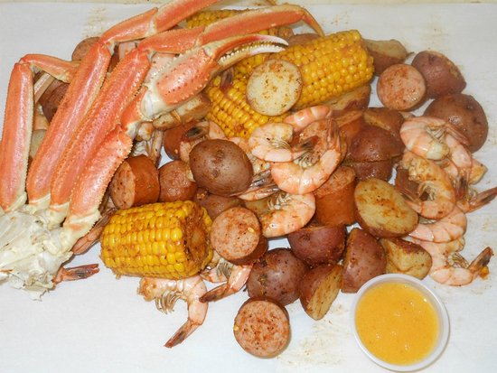Aiken, SC: Our Big Game Special - LCB base, medium shrimp and pound of crab legs $33.50 (Big Game wknd only
