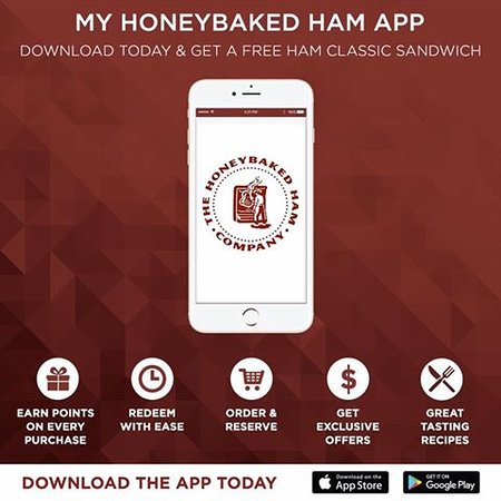 Anderson, SC: Download our app and get a free Ham Classic sandwich and other offers!