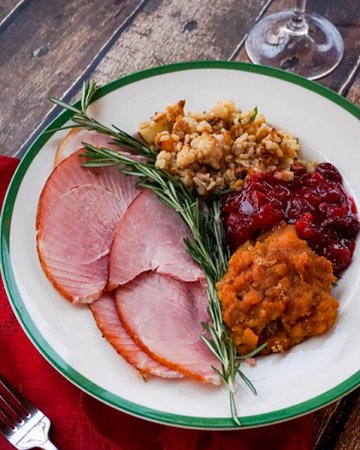Honey Baked Ham A And Sides From Honeybaked Means Dinner Is Served