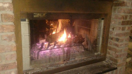Morris Plains, NJ: Fireplace at Tabor Tavern