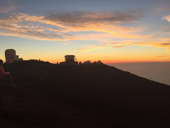 Makawao, ฮาวาย: The observatory at Haleakala