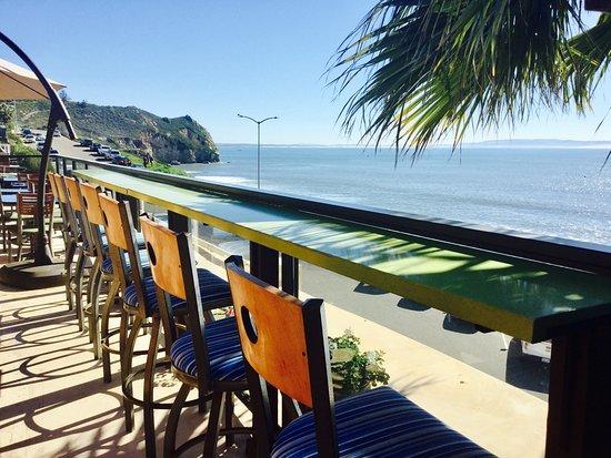 Inn at Avila Beach: Care for an ocean front cup of joe?