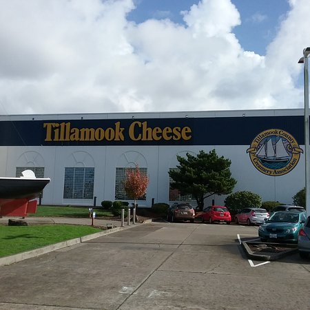 Tillamook, Oregón: Outside the Factory