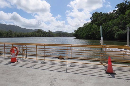 Daintree, Australia: A wide part of the river