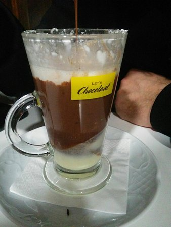 Ordes, Испания: Rico chocolate