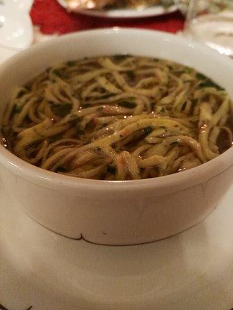 Villandro, Italia: piatto tipico tirolese