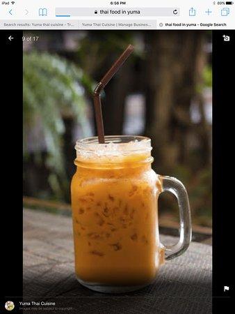 Thai Ice Tea .