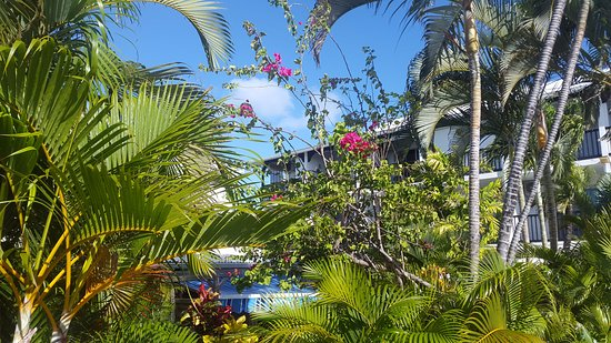 Bwa Chik Hotel & Golf: garden