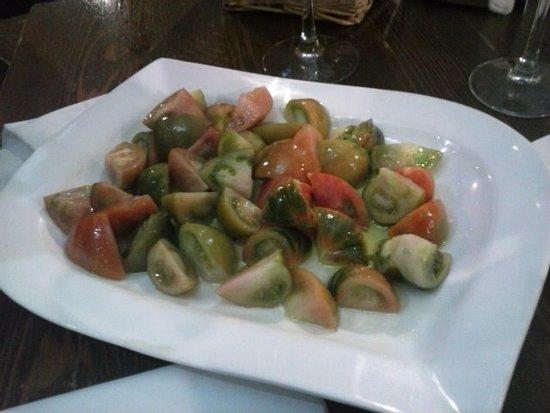 La Encina: Ensalada de tomate raf.
