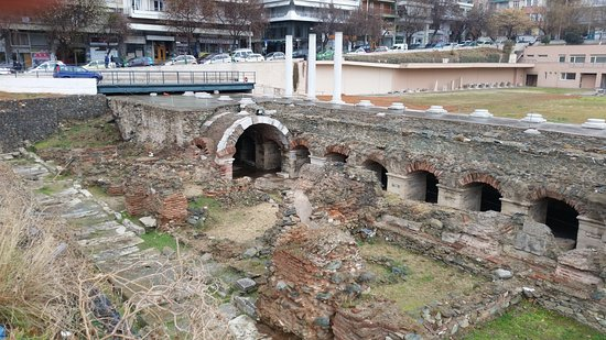 The Greek Agora and Roman Forum : The main exhibits