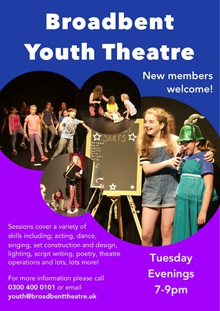 Lincolnshire, UK : Broadbent Youth Theatre Poster