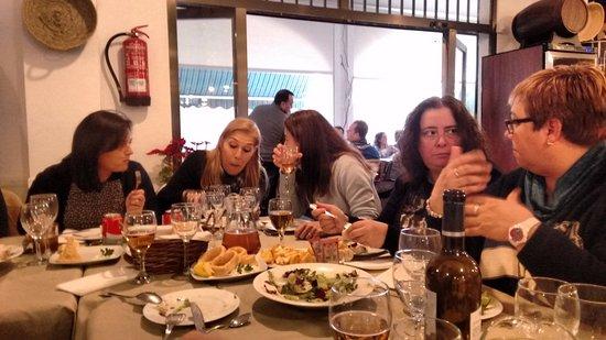 Picanya, إسبانيا: disfrutando de los entrantes