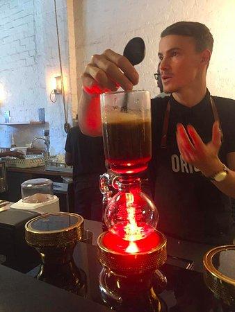Cape Town, Afrika Selatan: Coffee tasting!