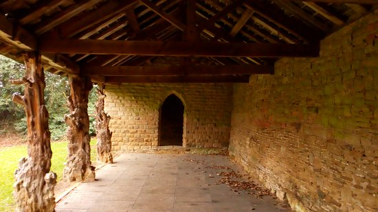 """""""The Deer Hut"""" located towards the museum and farm ..."""