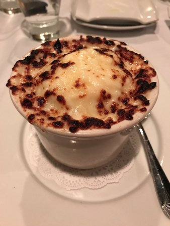 Fairfield, CT: Onion soup 9$ and massive this alone was a meal