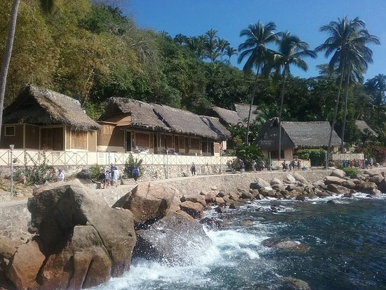 Vallarta Adventures: shore line- cute little huts!