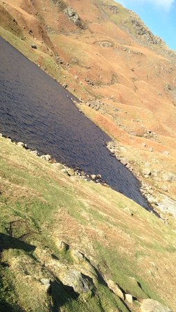 Grasmere, UK: One section of the tarn