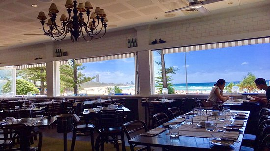 Burleigh Heads, Australia: View from Table 24