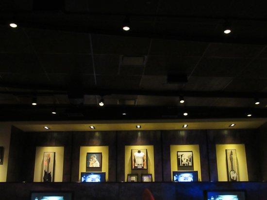 Hard Rock Cafe decor