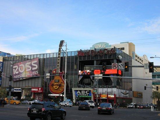 Hard Rock Cafe on the Las Vegas Strip (day)