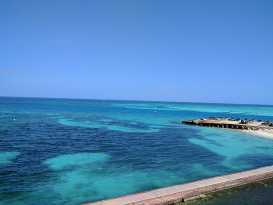 Dry Tortugas National Park, FL: view from atop Fort Jefferson