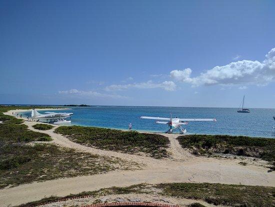 Dry Tortugas National Park, FL: Sea Planes bringing visitors