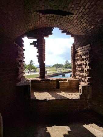 Dry Tortugas National Park, FL: brick work at Fort Jefferson