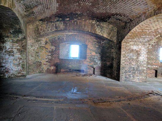 Dry Tortugas National Park, FL: inside Fort Jefferson