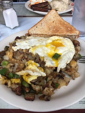 The Park Cafe: Michigan Hash
