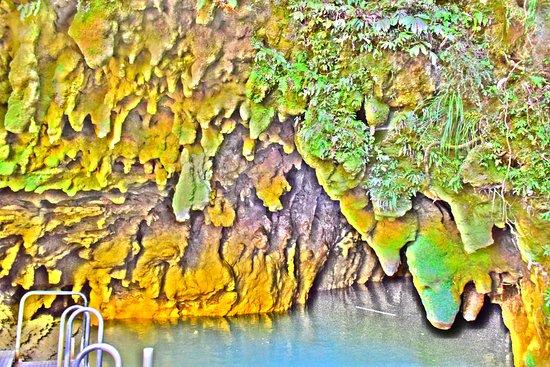 怀托摩萤火虫洞照片