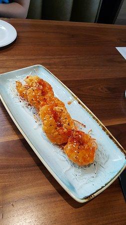 Sterling, VA: Firecracker shrimp