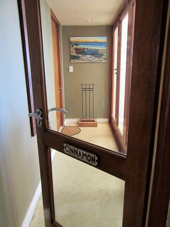 Paternoster, South Africa: entrance to Cinnamon Room