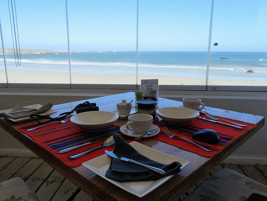 Paternoster, South Africa: breakfast table