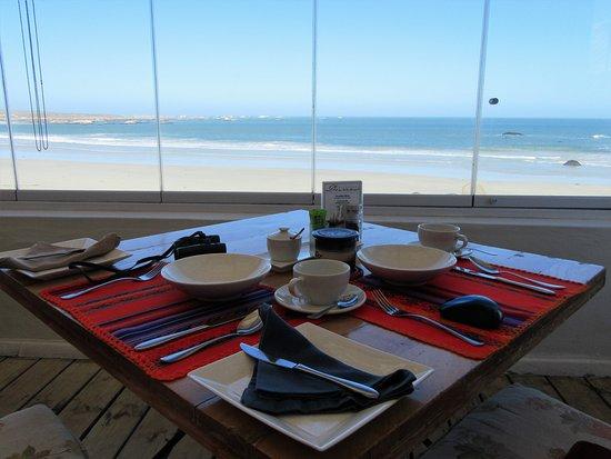 Paternoster, Νότια Αφρική: breakfast table