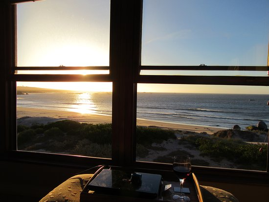 Paternoster, South Africa: view form Cinnamon Room