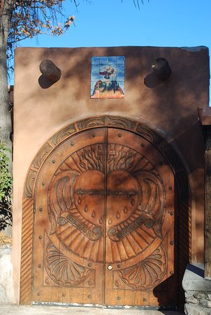 Chimayo, Nowy Meksyk: Beautiful carving
