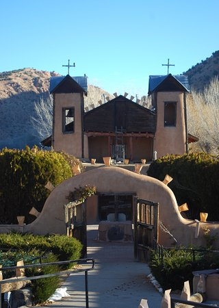 Chimayo, Nowy Meksyk: The sanctuary