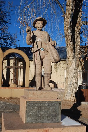 Chimayo, NM: Interesting history throughout the plaza