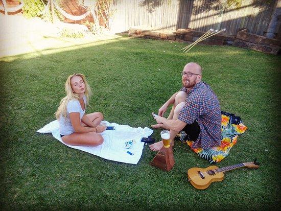 Gladstone, Australia: Garden/Pool area