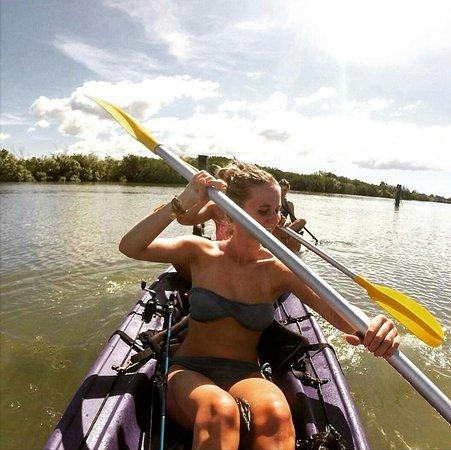 Gladstone, Australia: Free Kayak hire