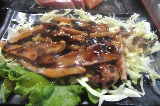 Chicken Teriyaki, Uotomo Sushi, Milpitas, CA