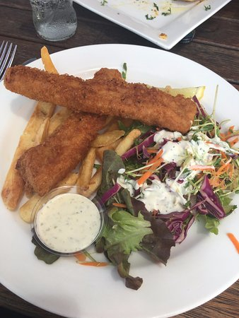 Hydeaway Bay, Australia: Fish and Chips