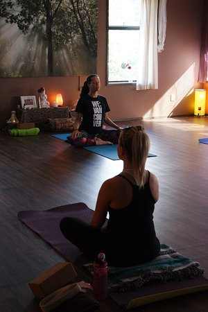 Sicamous, Canada: Beautiful Yoga Space