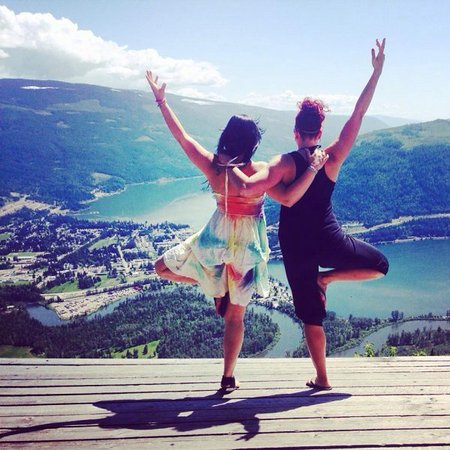 Sicamous, Canadá: Yoga with Heart