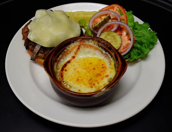 Seymour, IN: Order any of your burgers with additional toppings such as grilled onions, mushrooms, or peppers