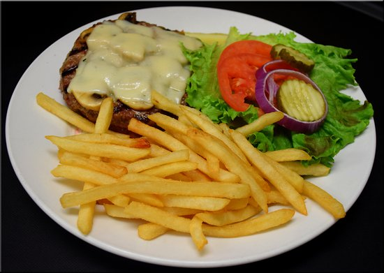 Seymour, IN: We have several burgers to try including our classic Mushroom & Swiss Angus burger!