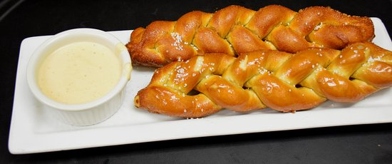 Seymour, IN: The local favorite appetizer is our delicious Beer Cheese and Pretzels!