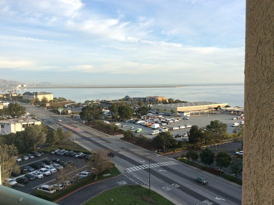 Burlingame, CA: View of the Bay